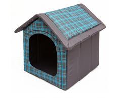 Hobbydog R4 BUDNKR16 Budnkr16 R4 - Cuccia per Cani e Gatti, S-XL (R4 (60 x 55 cm), L, Blu, 1,4 kg