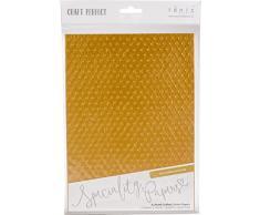 Craft Perfect Cotone Carta A4 5/PK, Poltrona in Pelle Antica, taglia unica