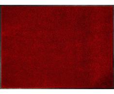 ID Opaco C9014004 Confor Tappeto Zerbino in Fibra di Nylon, caucciù, Nitrile, Colore: Rosso, Rosso, 120 x 240 cm