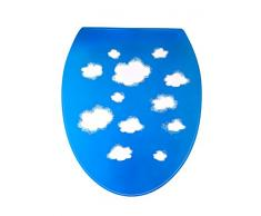 Outlook Design Italia V6V0100600 WC Decor Sticker Decorativo per Copri WC, Clouds 6