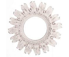 Dcasa Decorato Specchi da Parete Mobili Adesivi Decorazione della Casa Unisex Adulto, Crema (Crema), Unico