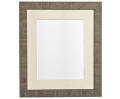 CORNICI per posta e le istruzioni per fare in profondità 14 x 20,32 centimetri photo frame foto di supporto grano 10 x 10,16 cm, marrone