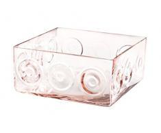 Pasabahce Home Vaso Vetro Chicago Rosa Cm11,5 17378 Arredo E Decorazioni Casa, 11.5 cm
