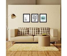 WALPLUS Wall Art Frame Live Simply Lettera Relax Stampa su Tela murale Decalcomanie Soggiorno Scuola Materna Ristorante Hotel Cafe Ufficio Decorazioni per la casa Decorazione