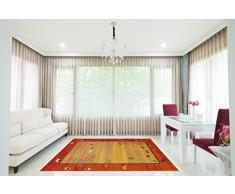A2Z RUG persiano tappeto runner tradizionale orientale tappeto rosso 4 9 x 3 3 tappeto moderno