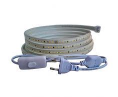 Striscia LED a risparmio energetico. 16M bianco caldo