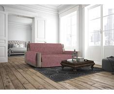 Italian Bed Linen Copridivano Antiscivolo Comfort, Bordeaux, 1 Posto