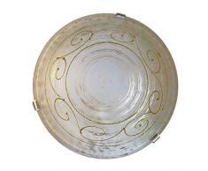 Plafoniere In Vetro Satinato : Plafoniera vetro satinato sabbiato