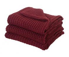 Dreamscene morbido maglia coperta di lusso, rosso, 150Â x 200Â cm