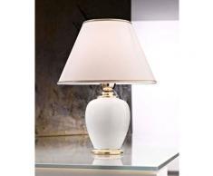 Austro Lux 0014.73.6 a + + to e, lampada da tavolo in ceramica, 100 Watts, E27, 59 x 40 x 43 cm