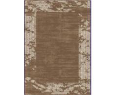 Flora Carpets Modern fashion/Leo Tappeto di creatore al design, Poliestere, marrone, 150 x 80 x 1.2 cm