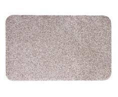andiamo Zerbino Samson tinta unita, lavabile in lavatrice a 30Â gradi, Cotone, beige, 40x60