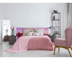 Oedim – Letto in PVC Palacio 135 x 60 cm | Disponibile in Diverse Misure | Testiera Leggera, Elegante, Resistente ed Economica