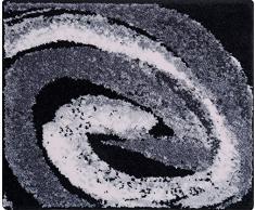 Grund Colani 42 Tappeto per Il Bagno, Poliacrilico Supersoft, Grigio, 50x60 cm