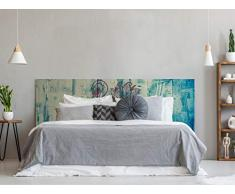 Oedim - Testiera per Letto in PVC, Stampa Digitale, Motivo: Elefante, 100 x 60 cm, testiera Originale ed Economica