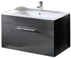 Posseik 5712 84 - Vanity, Armadietto da bagno, colore antracite