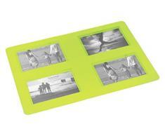 DECORLINE 42 x 29 cm, Souvenirs foto rettangolare, Tovaglietta, colore: verde