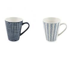 Villa DEste Home Tivoli 2195135 Set Mug, Ceramica