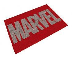 SD Toys Zerbino con motivo Logo Marvel, fibra di cocco, Rosso, Decorazione del hogar
