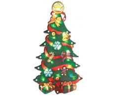 The Benross Christmas Workshop, Albero di Natale con lucine LED (con effetto metallico)