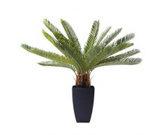 KARE Pianta Decorativa Cycas Tree, Verde, 78 x 20 x 40 cm