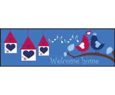 Eurographics DT-AHA1044 - Tappetino lavabile in lavatrice, 60 x 180 cm, motivo Royal Home