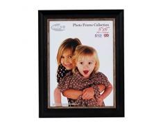 Tradizionali foto e cornici britannici, 15 x 20 cm, confezione da 4, lavare piccolo nero Inov 8 86 PFE-SBK-