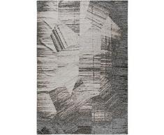 benuta - Tappeto in Tessuto Piano, 120 x 180 cm, Facile da Pulire, per corridoio e Altri Ambienti, Colore: Grigio