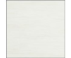 GARDINIA Tenda a pannello (1 pezzo), Scorrevole, Opaco, Tenda a pannello Look naturale, Bianco, 60 x 245 cm (LxA)