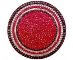 MG DÉCOR - Tovaglietta da tavola 38,10cm, Rosso
