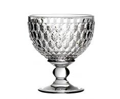 Villeroy & Boch Boston Spumante, Coppa Versatile per Bevande o Dessert in Cristallo, Adatta per lavastoviglie, Trasparente, Vetro