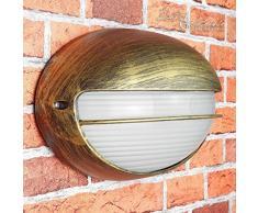 Lampada applique per esterni nostalgico Amsterdam feuchtraum-lampe per esterni / IP44 E27 fino a 60W / faro-nave parete per Cortile e giardino terrazza Illuminazione