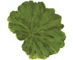 Caspari Foglia fustellate Tovagliette, Colore: Verde, Confezione da 4