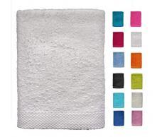 DHestia - Set di Asciugamani da Bagno e Doccia in Cotone 100%, 500 g/m², Colori e Misure Grandi, 50 x 100 cm, Confezione da 3