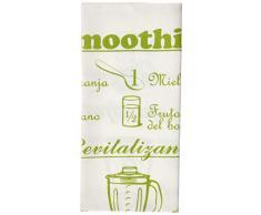 MI CASA - Strofinaccio da Cucina, Motivo: Smitohies, Colore: Verde
