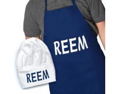 Gift House International - Set Grembiule e Cappello Reem