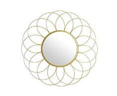 Dcasa - Specchi da Parete in Metallo, per mobili, Decorazione della casa, Unisex, per Adulti, Colore: Unico