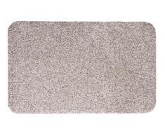 Andiamo 700608 Samson - Zerbino per ingresso in cotone, lavabile in lavatrice a 30 gradi, 50 x 80 cm, colore beige