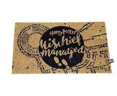 Harry Potter - Zerbino Mischief Managed Doormat Official Merchandising Riferimento DD per la casa unisex per adulti, multicolore (multicolore), unico