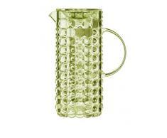 Guzzini Tiffany Caraffa C/Bulbo Infusore 18,5 x 11,5 x H 25,5 cm, Giallo