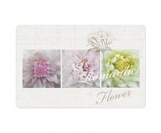 Decorline 28,5 x 44 cm, Motivo: Romantic Flower, Opaca, Tovaglietta, Colore: Multicolore