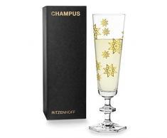 RITZENHOFF 3520007 - Bicchiere da champagne, colore: Oro