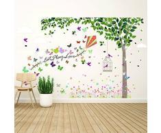 Wallflexi Wall Stickers Joy of Spring murale Decalcomanie Arte Soggiorno Scuola Materna Ristorante Hotel Cafe Ufficio Decorazioni per la casa Decorazione