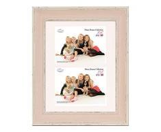 Inov8 PFES-LWPK-DA1 tradizionali britannici rosa foto e cornici, 20 x 30 cm, doppia visiera 2 x 10 x 15 cm, grande lavaggio