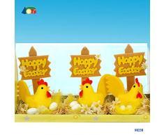 Givi Ginmar Giocaci Nidi con Chiccia e Uova per Pasqua, 15 Mm