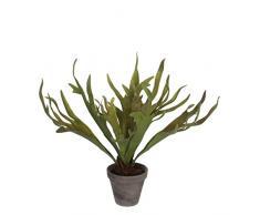 Mica Decorations 930673 T pianta artificiale, in plastica, 50 x 50 x 50 cm, colore: verde