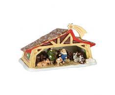 Villeroy & Boch Christmas Toys Memory Presepe, Culla Figura Collettiva, Multicolore, 27 x 16 x 16 cm