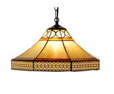SUL NAOMI - Lampada sospesa Tiffany, 1 luce, 40 cm