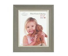 Inov8 tradizionali foto e cornici britannici, 20 x 25 cm, confezione da 2 108 HORSE-LWDG-, grande lavaggio grigio scuro