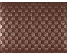 Saleen - Tovaglietta americana rettangolare, 30 x 40 cm, Marrone, 1 pezzo